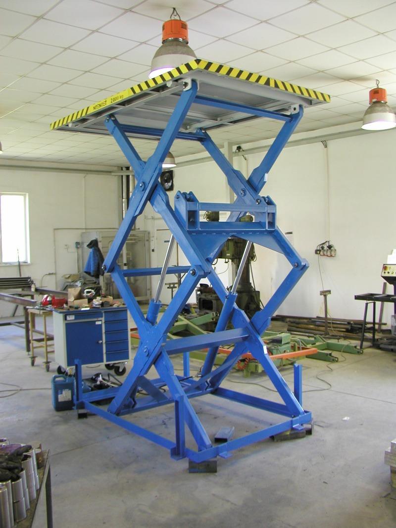vysokozdvizna hydraulicka plosina 1